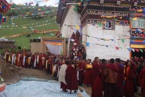 monks waiting