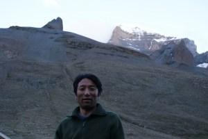 yon with tise peak