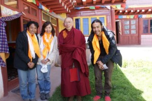 with Trupa Rinpoche
