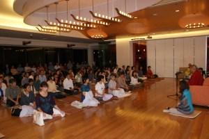 At Bodhigaya hall2