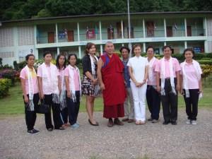 Kris, Rinpoche and Walai teachers