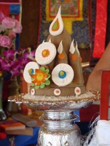 Medicine Buddha torma