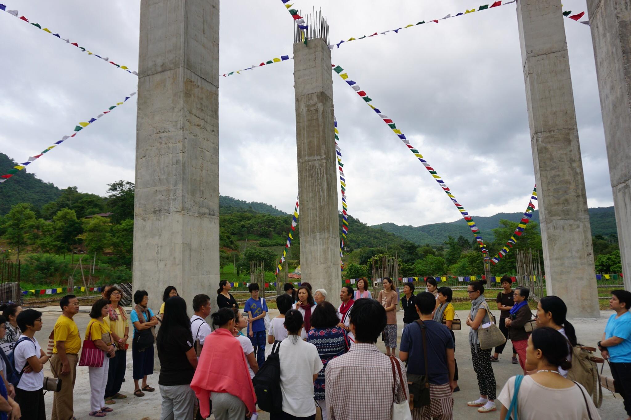 at stupa