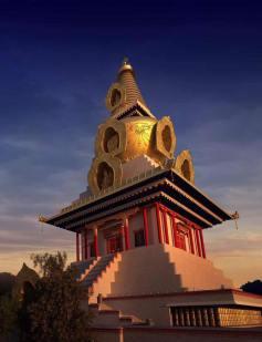 stupa layout