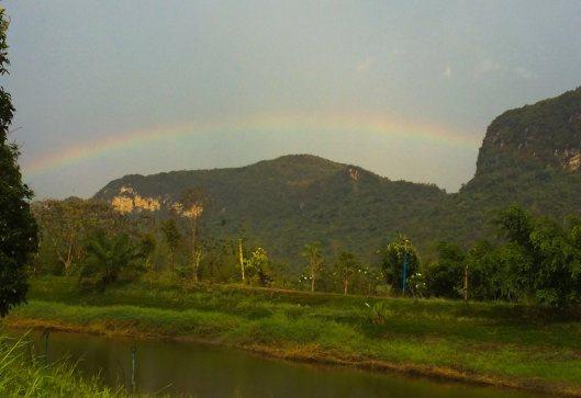Rainbow, 13 April 2014