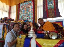 With Tsulchen Rinpoche